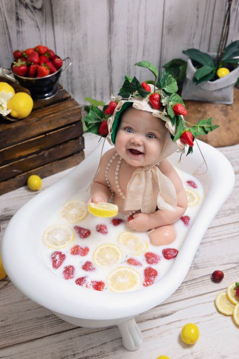 Milk Bath Session Dallas Child Photographer