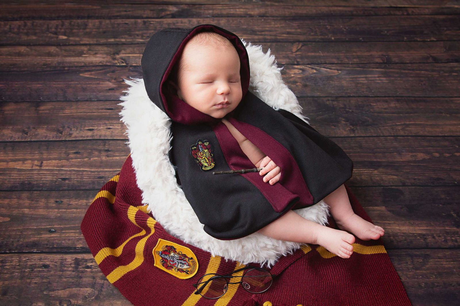 Flower Mound Baby Photographer White Lavender Photography Harry Potter
