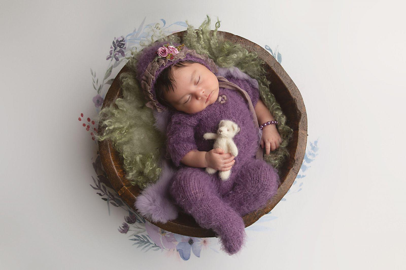 Flower Mound Newborn Photographer White Lavender Photography